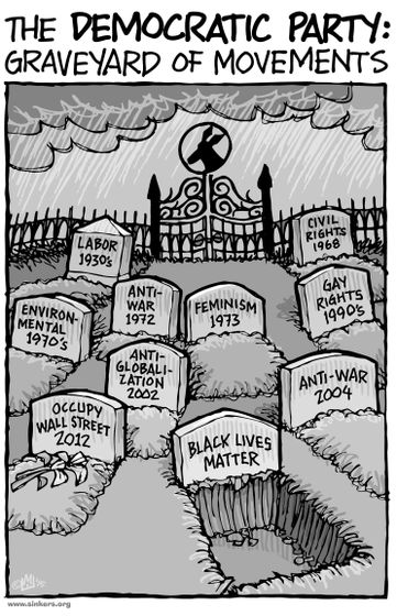 Graveyard of Movements cartoon