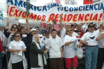 Immigrant Rights March - Fresno, 2006